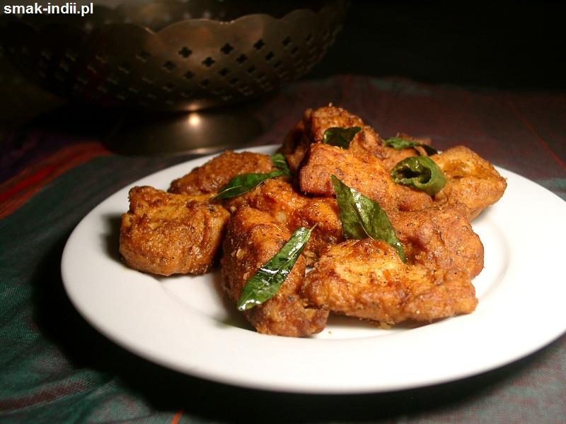 kurczak 65 - popularna przekąska kuchni indyjskiej