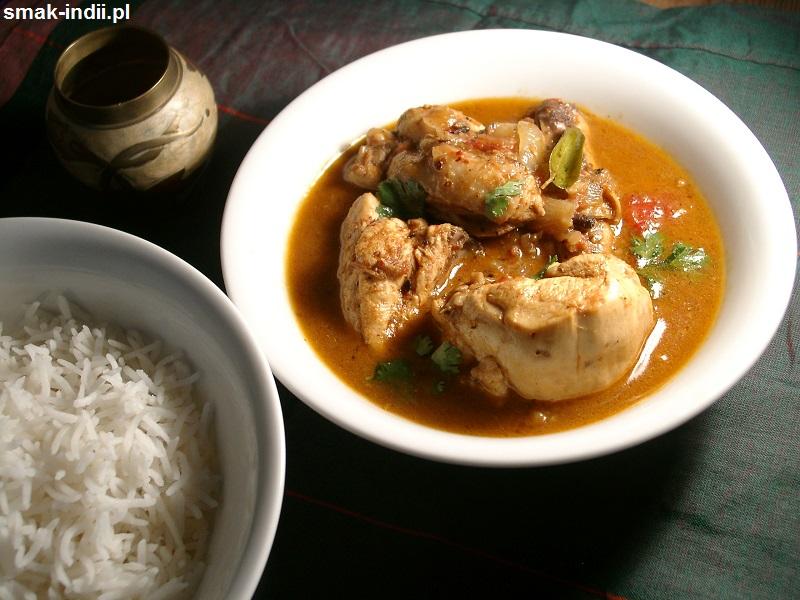 kurczak z Chettinad - danie w stylu południowych Indii