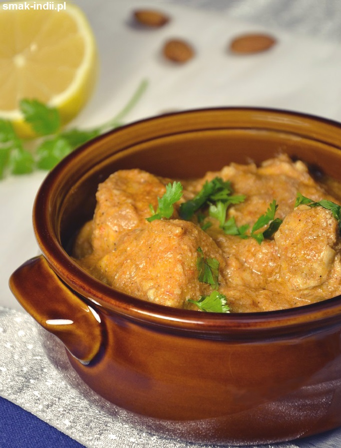 kurczak w maśle - Murgh Makhani