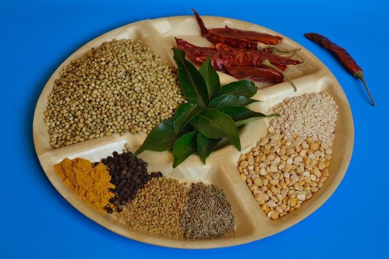 składniki przyprawy do sambaru
