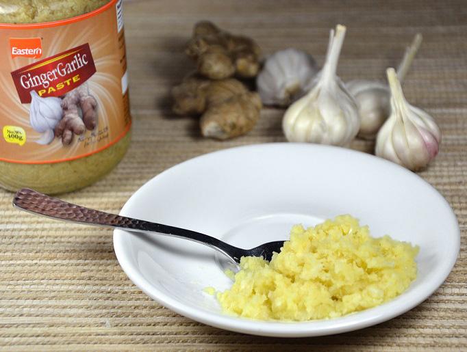 pasta czosnkowo-imbirowa
