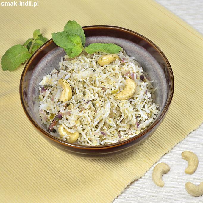 ryż miętowy