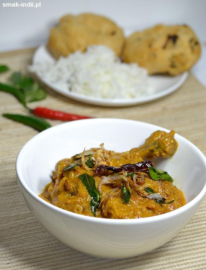 keralskie curry z kurczaka