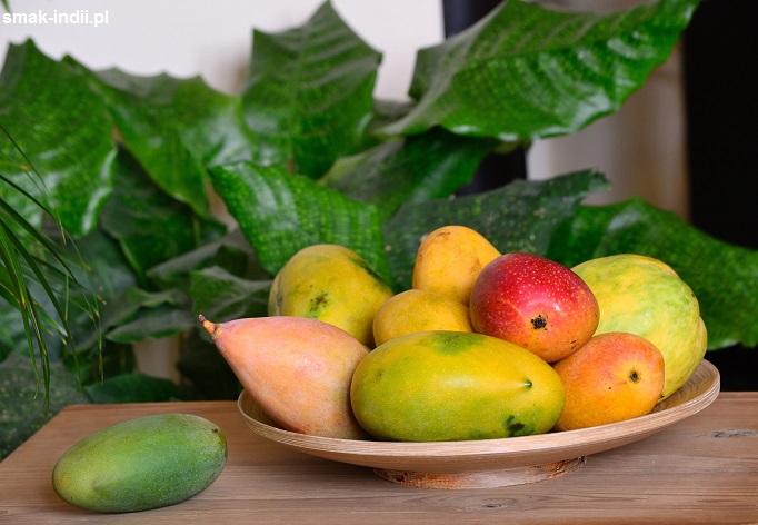 różne odmiany indyjskiego mango