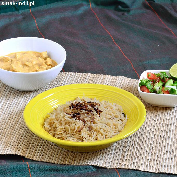 parsyjski brązowy ryż