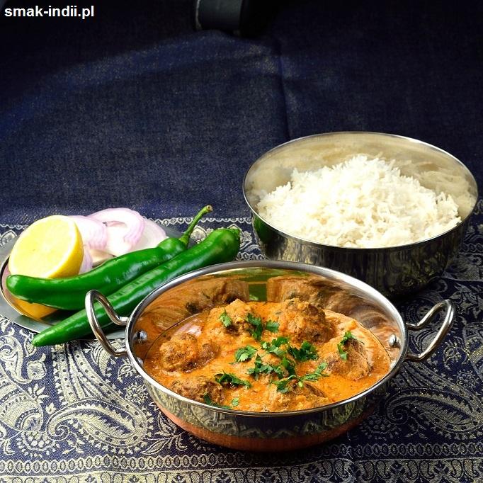 kofty w kremowym pomidorowym curry